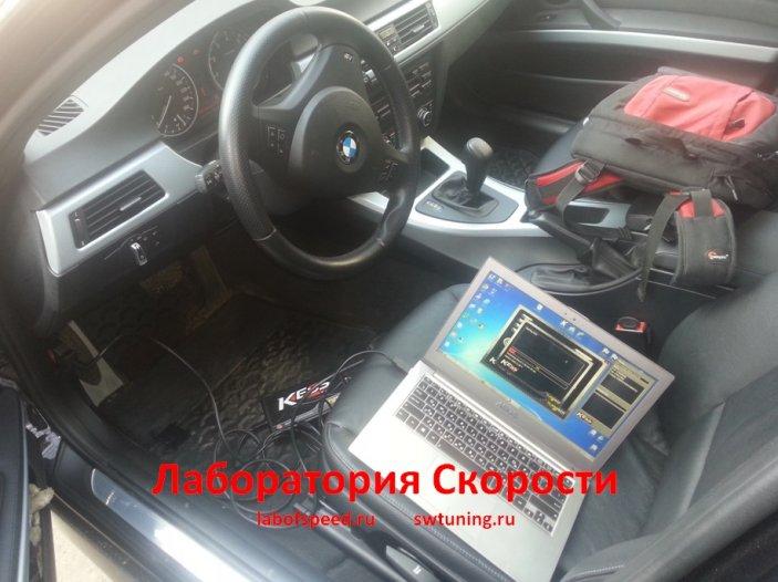 Чип-тюнинг BMW 3 E90/E91/E92. Удаление/Отключение катализатора. Отчет