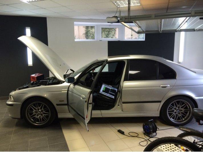ЧИП Тюнинг BMW E39 530 — бортжурнал BMW 5 series АРТ Серый Волк