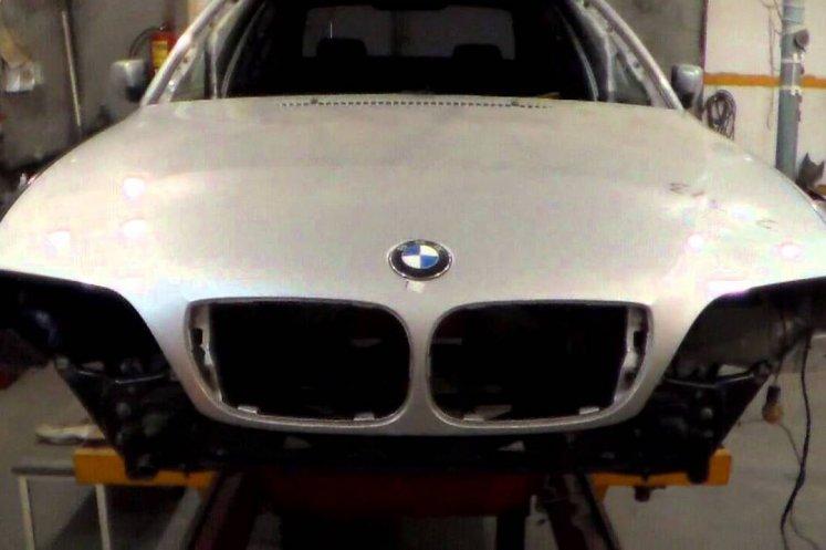 Кузовной ремонт бмв в Москве|Ремонт люка бмв в центре BMW Madi AUTO