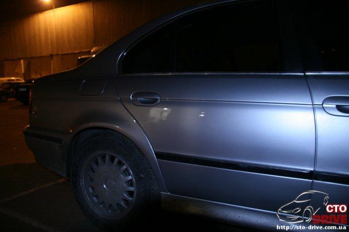 Кузовной ремонт BMW E39 — рихтовка, покраска автомобиля в Киеве