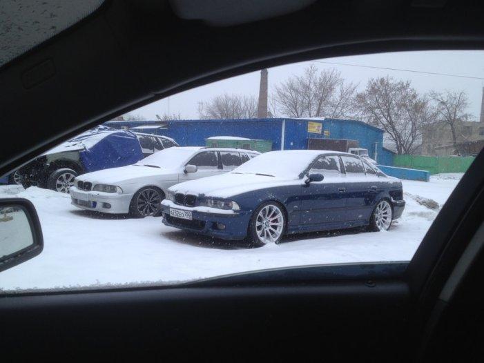 Вся зима прошла в сервисе …) — бортжурнал BMW 5 series Bunker